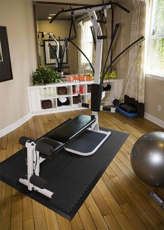 Pvc Gym Tiles Rhino Tec Sport Floor