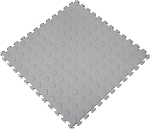 Raised Coin Pattern PVC Tiles 6 Pack
