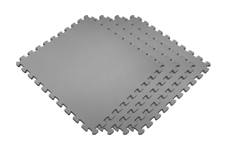 Norsk Reversible Foam Floor Mats - Black and white interlocking floor mats