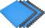 Reversible 4 Pack<br> Sport Foam Mats (24