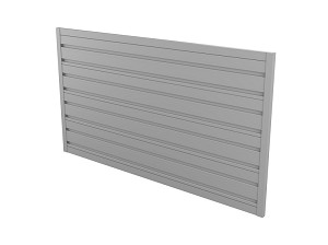 NorskWall (4) Panel Slatwall Kit