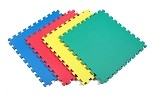 Solid Color 4 Pack<br> Foam Mats (24