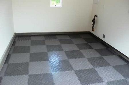 Pvc Floor Tiles Raised Diamond Pattern