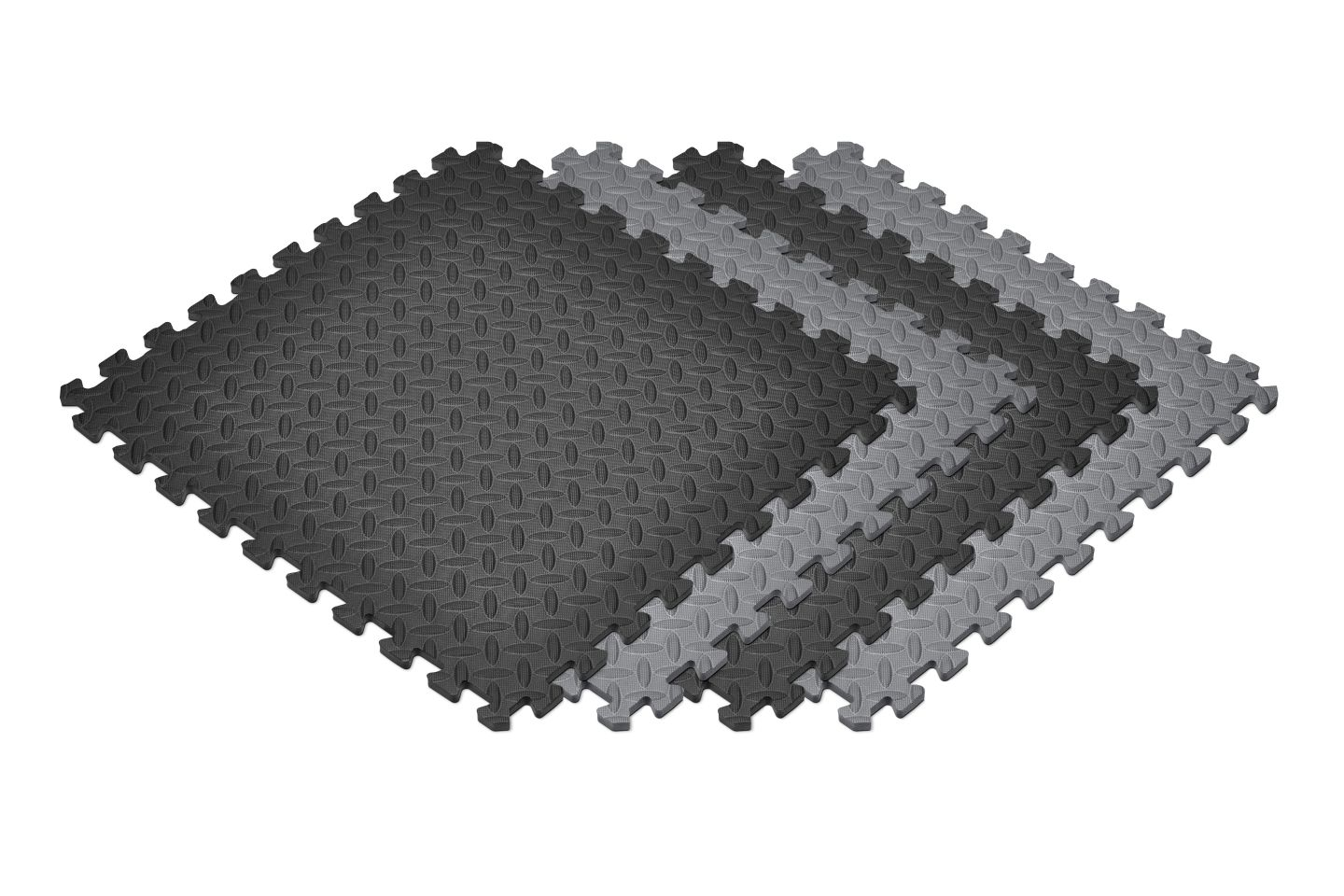 New Norsk Diamond Plate Foam Floor Mats