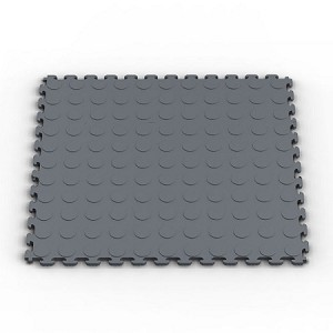Raised Coin Pattern PVC Sample Tiles